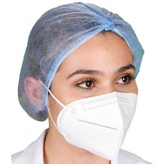 N95 / FFP2 Koruyucu Meltblown Maske Beyaz No:1 (Küçük Yüzler İçin)