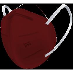 N95 / FFP2 Koruyucu Meltblown Maske Bordo No:1 (Küçük Yüzler İçin)