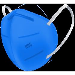 N95 / FFP2 Koruyucu Meltblown Maske Mavi No:1 (Küçük Yüzler İçin)