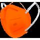 N95 / FFP2 Koruyucu Meltblown Maske Turuncu No:1 (Küçük Yüzler İçin)